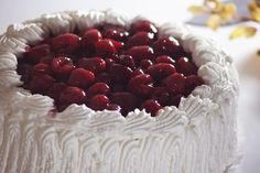 Raspberry Cream Cake, Uudenmaan Herkku, Finnish Bakery, March 2016