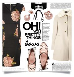 """""""Put a Bow on It!"""" by dolly-valkyrie ❤ liked on Polyvore featuring RED Valentino, Dorothy Perkins, Miss Selfridge, Kate Spade and bows"""