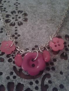 Pretty in pink girls necklace by LeLusPrettyThings on Etsy, $15.00 Girls Necklaces, Jewelry Party, Pink Girl, Pretty In Pink, Washer Necklace, Jewelry Design, Etsy