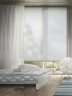 Serene white Duette now available from: http://www.apollo-blinds.co.uk/newcastle/