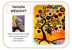 Natasha Wescoat - Portrait d'artiste en maternelle