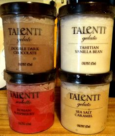 Talenti Gelato. I freaking love this stuff!