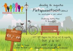 Op 16 augustus organiseert het dorpshuis in Nieuw-Buinen een fietstocht. De organisatie heeft een schitterende route uitgezet en onderweg wordt er voor een hapje en een drankje gezorgd.  Lees verder op onze website.