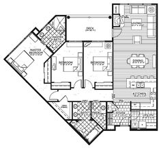 Breckenridge BlueSky Condos Plans Map ((I love efficiency of entry (foyer/laundry), great room concept (living/dining/kitchen, fireplace/tv/shelving, seats at kitchen counter), storage, and full bath in addition to bedrooms.  1,581 sq ft.))