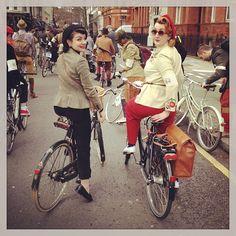 London Tweed Ride 2013  (via Photo by fleurdeguerre • Instagram)