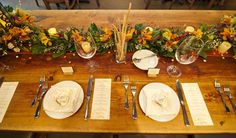 love the lushness of the centerpieces (by allison j photo)