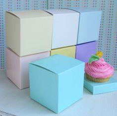 Cupcake Boxes - Wedding Favor Boxes