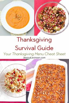 Keep this Thanksgiving survival guide by your side with 10 tips to help you have a healthier Thanksgiving and start to the holiday season. Healthy Thanksgiving Recipes, Easy Holiday Recipes, Thanksgiving Side Dishes, Christmas Main Dishes, Eat Seasonal, Real Food Recipes, Survival Guide, Nutrition Tips, Meal Planning
