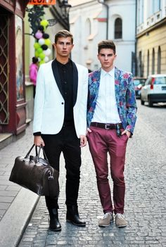 Street fashion in Krakow