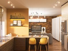 To give your kitchen space a summer upgrade, or to inject it with some life and colour, here is a collection of our favourite yellow kitchen ideas. Interior Design Website, Best Interior Design, Floating Kitchen Island, Mediterranean Kitchen, Kitchen Paint Colors, Grey Kitchen Cabinets, Kitchen Countertops, Kitchen Appliances, Farmhouse Style Kitchen