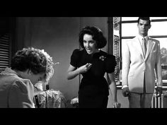 """A pivotal scene from one of my favorite films. Based on the Tennessee Williams' play, """"Suddenly, Last Summer,"""" 1959 Elizabeth Taylor"""