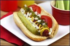 Hungry Girl's Chicago Dog (not mine from HG) Recipe