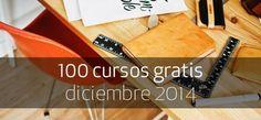Cursos online gratuitos para diciembre de 2014 > http://formaciononline.eu/100-cursos-gratis-diciembre-2014/