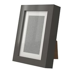 RIBBA, Frame, high gloss, gray