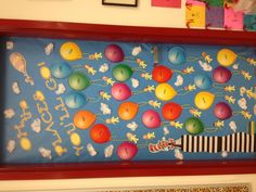 Oh, The Places You'll Go! Door decoration for classroom.