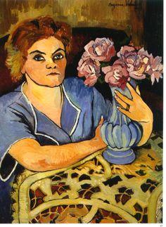 Suzanne Valadon (1865-1938) Portrait of Lily Walton 1923