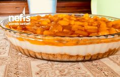 Şeftali Soslu Serinleten Pasta – Nefis Yemek Tarifleri