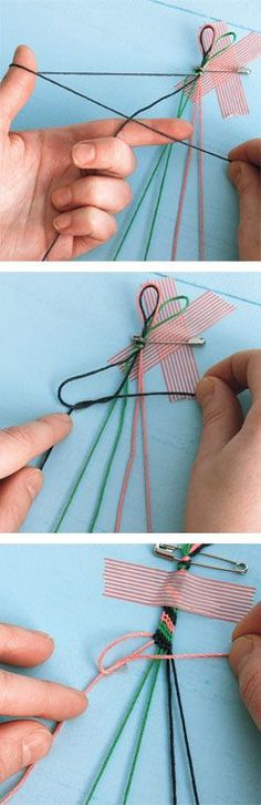 fun+easy+crafts+for+teens   Kids' craft: How to make a friendship bracelet - Canadian Living