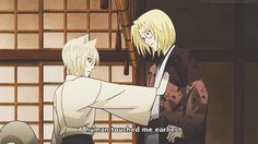 "onethirdofimpossible: Kamisama Kiss GIF ""After interacting with people """