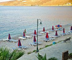 Sun is going down at Livadia beach Greek Islands, More Photos, Wind Turbine, Greece, Sun, Beach, Travel, Greek Isles, Greece Country