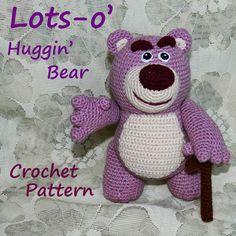 Crochet Pattern. Lotso (Toy Story)