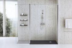 Une partie qui est devenue le symbole de la salle de bain moderne, c'est le receveur de douche extra plat. Un tel receveur offre plus de confort et d'élégance