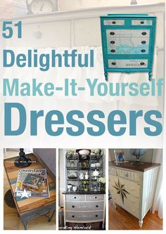 Dresser Divas :: Funkyjunk Interiors - Donna's Clipboard On