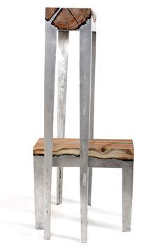 Aluminium Wood Casting by Hilla Shamia