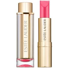 Estée Lauder Pure Color Love Lipstick Pearl - Colour Sky High (341.360 IDR) ❤ liked on Polyvore featuring beauty products, makeup, lip makeup, lipstick, estee lauder lipstick, moisturizing lipstick and estée lauder