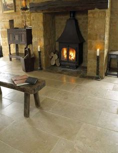 St Benedict Antique Floor Tile | Marshalls Tile and Stone Interiors