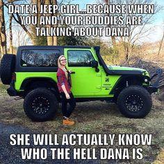 I crack myself up!  BUT ITS TRUE!!! #jeep #wrangler #jk #gecko #jeepher…