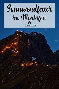 Wenn der längste Tag und die kürzeste Nacht aufeinandertreffen werden vielerorts Bergfeuer entzündet - so auch im Montafon. Ein Brauch, der sich seit den 1970er Jahren wieder an großer Beliebtheit erfreut. #sonnwendfeuer #sonnenwende #tradition #brauchtum #kultur #berge #meinmontafon #echterlebt #muntafu #visitvorarlberg Spirit, Kustom, Mountains, Night, Culture, Vacation