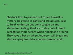 Take that Anderson. Head canon accepted
