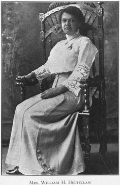 Mrs. William H. Holtzclaw. 1915