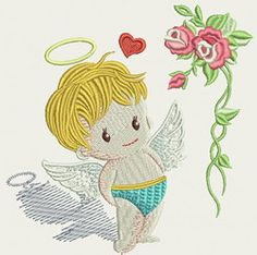 Many Beautiful Embroidery Designs. Embroidery Files, Machine Embroidery Designs, Embroidery Patterns, Freebies, Janome, Cute Babies, Applique, Calendar, Angels