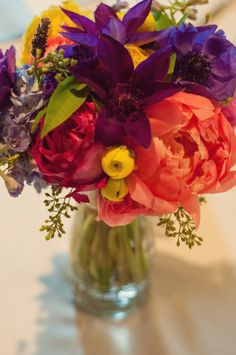 so. much. color. this bouquet rocks my world