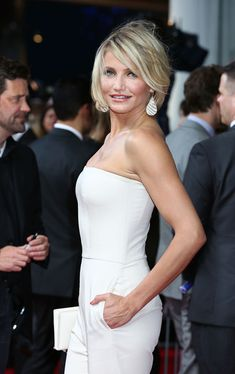 Cameron Diaz - What To Expect When You're Expecting - UK Film Premiere