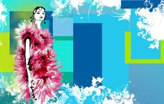 Digital Design with chic fashionillustration as colorful desktop wallpaper. Free Download! #fashionillustration #fashion #colorful #multicolored #geometricaldesign #design #desktopwallpaper #digitalart #illustration Chic Wallpaper, Colorful Wallpaper, Desktop, Wallpapers, Digital, Illustration, Fashion Design, Free, Wallpaper