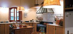 Shown on kitchen walls is Pratt & Lambert Intricate Lace CL047