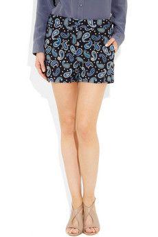 Stella McCartney paisley shorts