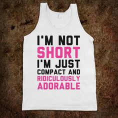 They say I'm short // funny pictures - funny photos - funny images - funny pics - funny quotes - #lol #humor #funnypictures