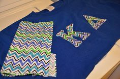 Thoughts and Findings: DIY No sew greek letter shirts