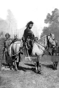 Emperor Menelik in March 1896 shortly after the battle of Adwa (Megabit 1888 E.C)
