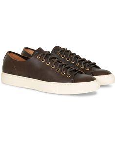 Buttero Calf Sneaker Dark Brown osoitteesta CareOfCarl.fi