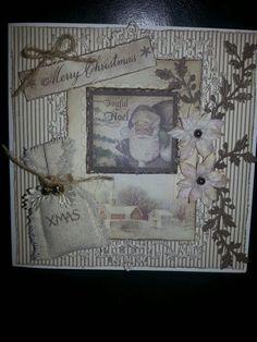 Handmade Christmas card recieved form sylvia g!!