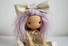 Doll WaterfallsAndDolls on Etsy,