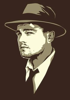 Leonardo DiCaprio  #vectorart #course Learn how to create your own amazing digital art with Inscape short courses http://www.inscape.ac.za/courses/short-courses/