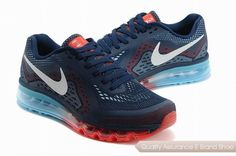 finest selection 766ae d3c3a nike air max 2014 mens black red sneakers p 2635