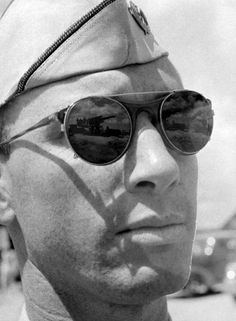 Not originally published in LIFE. Military man, Pearl Harbor, December 1941.