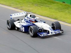 Back in Juan Pablo Montoya driving the car that should have won that championship, the Williams BMW Williams F1, F1 Drivers, Formula One, Motor, Custom Cars, Grand Prix, Race Cars, Super Cars, Engineering